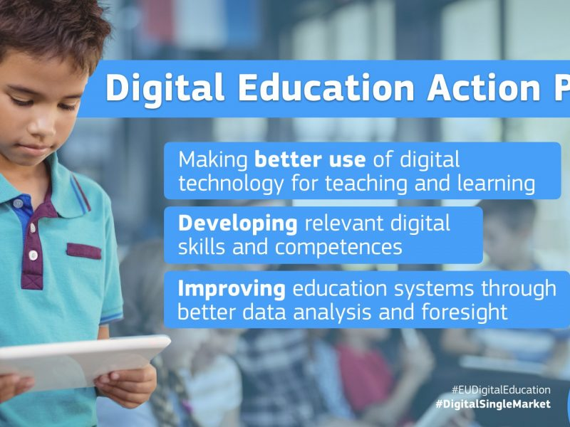 Digital Education Action Plan, la Commissione Ue rilancia con nuovi fondi e strategie