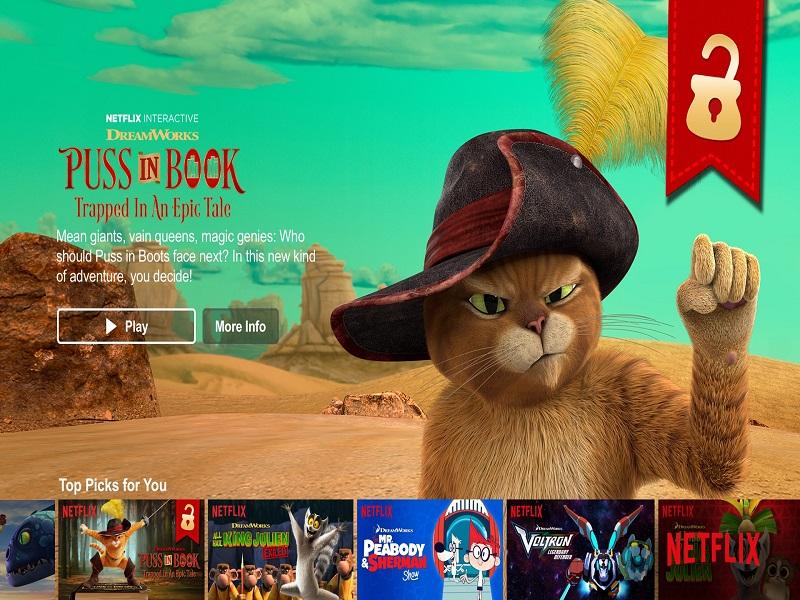 Giocare a Minecraft con il telecomando della Tv e Netflix