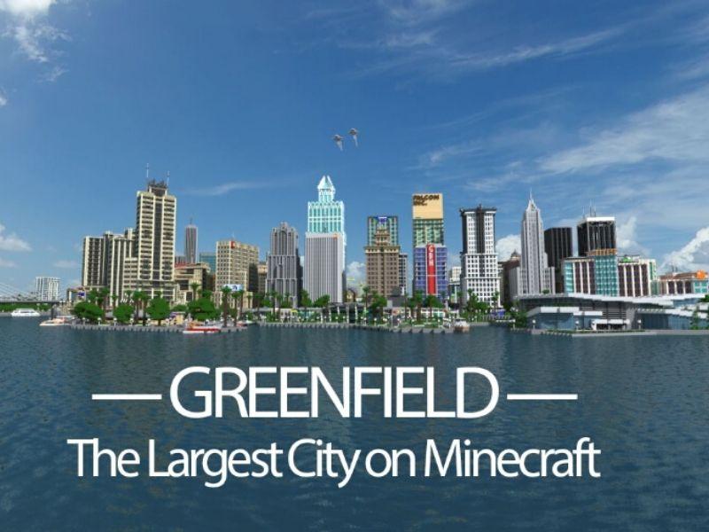 La prima città su Minecraft mai costruita