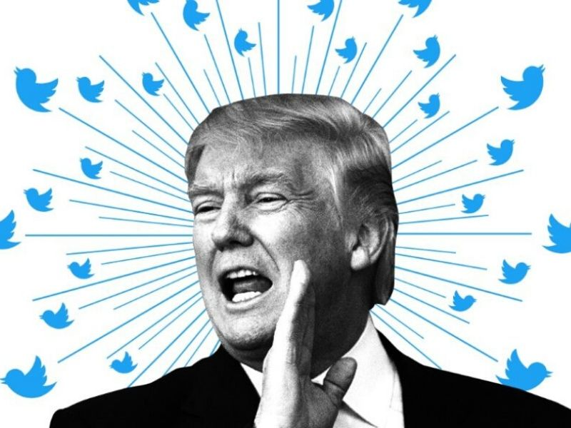 Tema Fake News: Twitter corregge Trump