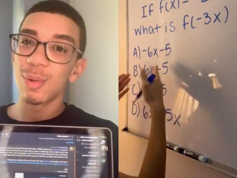 Insegnare la matematica su TikTok? Possibile grazie ad un sedicenne!