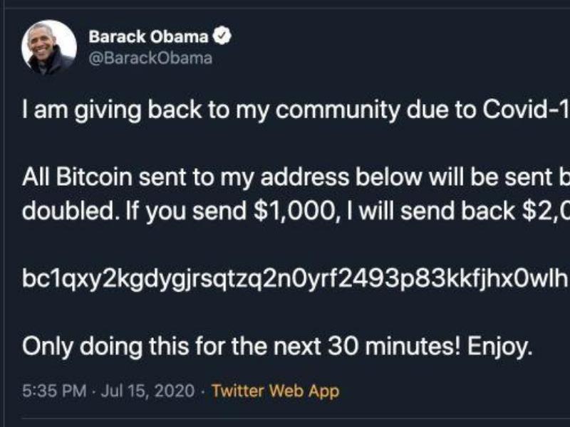 """""""Obama ti offre danaro"""": la nuova truffa viaggia su Twitter"""
