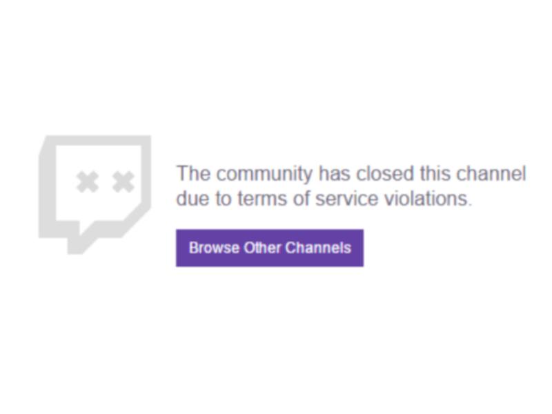 Twitch inflessibile: il ban può arrivare anche offline
